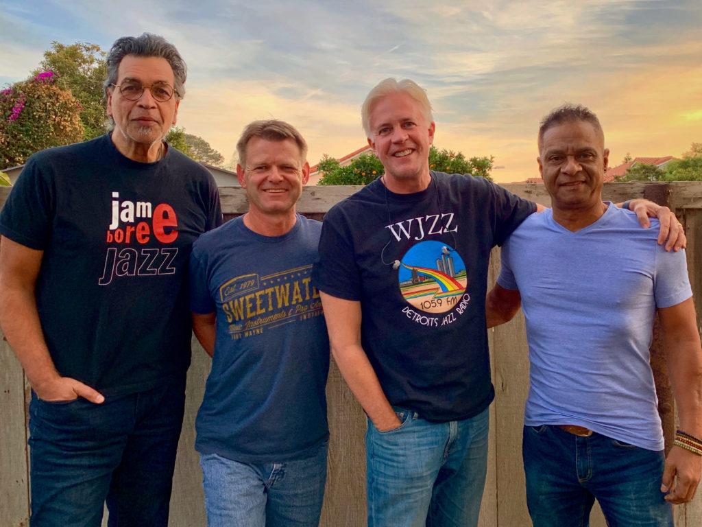 Scott Wilkie, Jimmy Haslip, Kleber Jorge and Jeff Olson